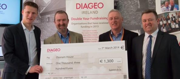 Diageo Ireland sponsor Ozanam House