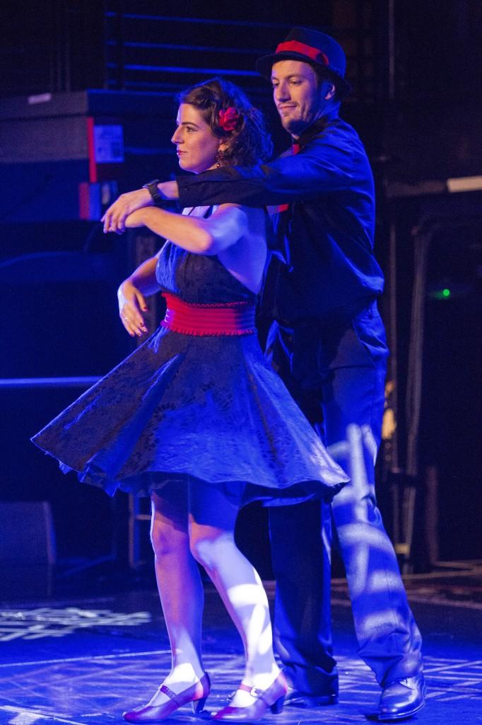 Ozanam Come Dancing 2014 Ann and Gary dancing the Tango