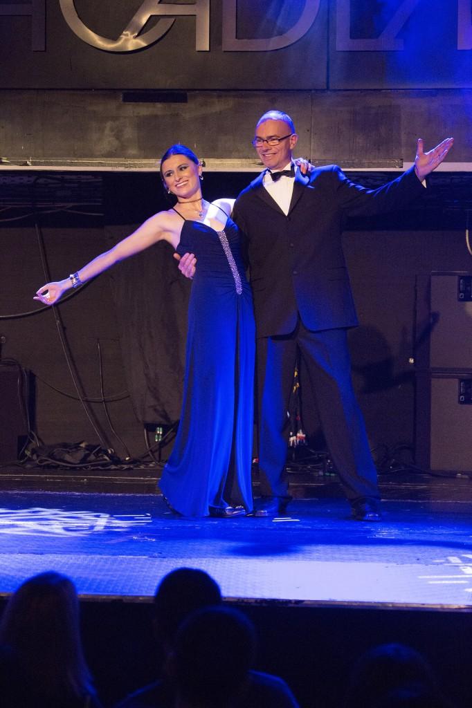 Ozanam Come Dancing 2014 Elizabeth and Jim dancing the Waltz