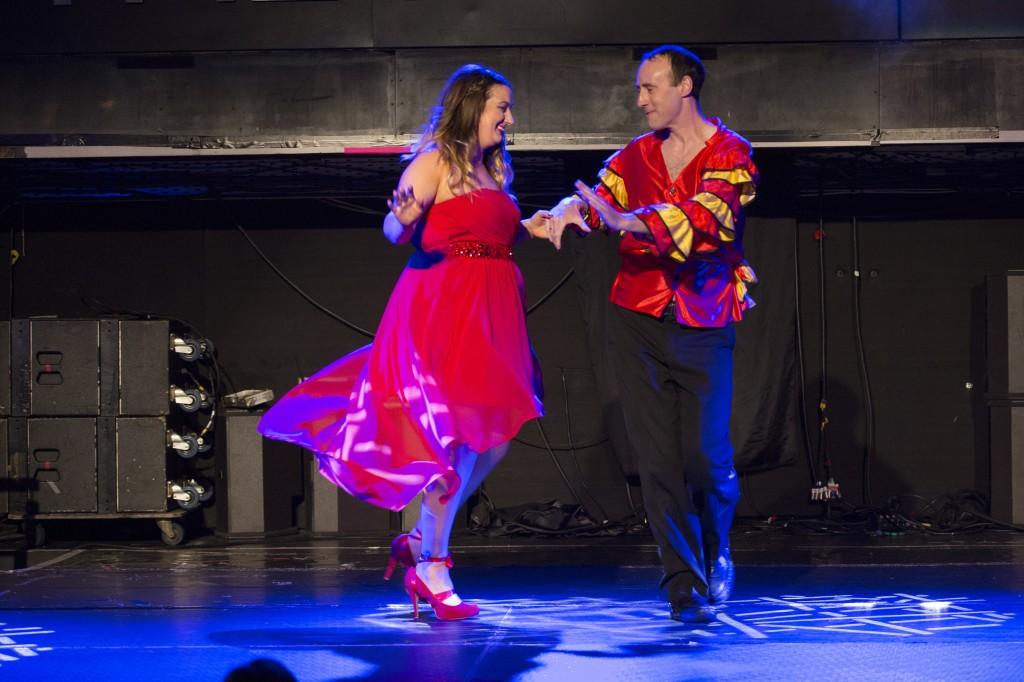 Ozanam Come Dancing 2014 Leah and Shane dancing the Samba