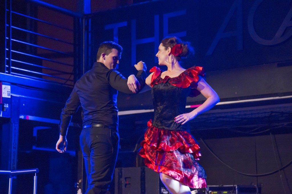 Ozanam Come Dancing 2014 Sarah and Joe dancing the Paso Doble
