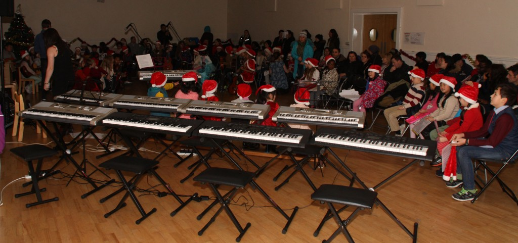 Ozanam House Youth Music School Christmas concert 2014