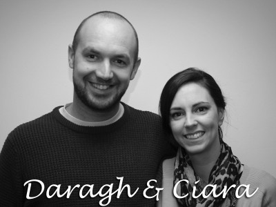 Daragh and Ciara