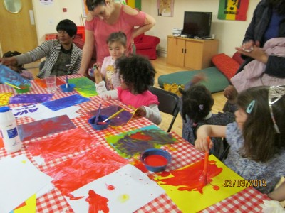 Dolphin Messy play 012