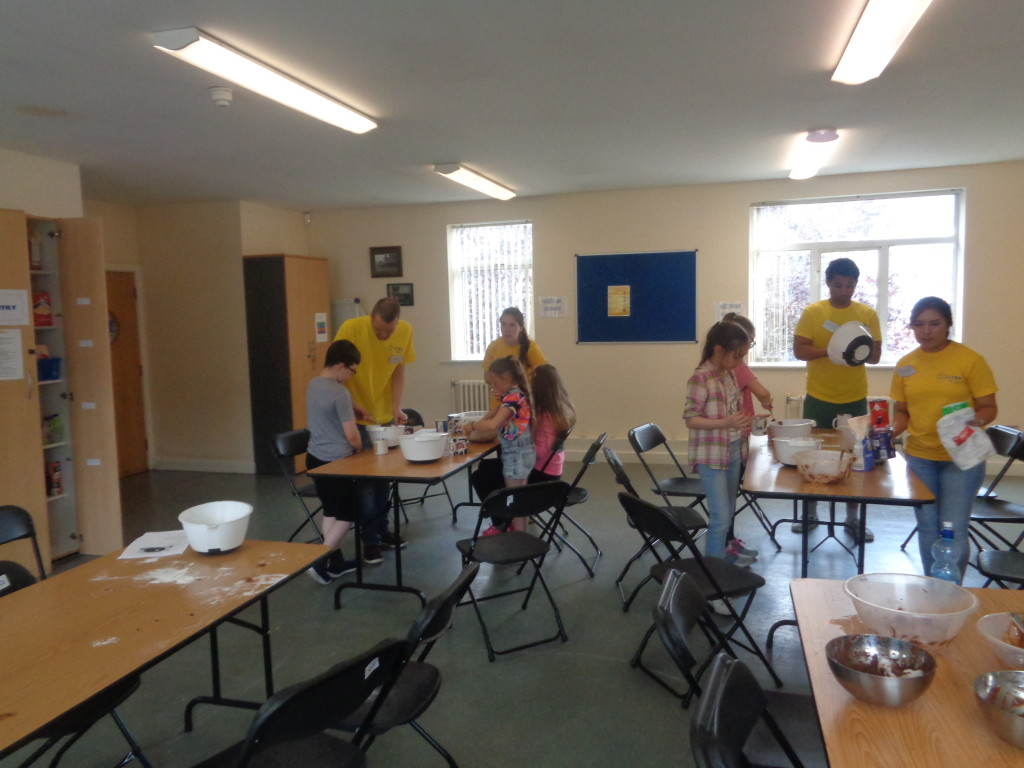 Ozanam House Summer Project Volunteers 2017