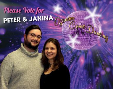 3) Janina & Peter