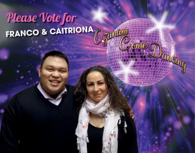 6) Caitriona & Franco