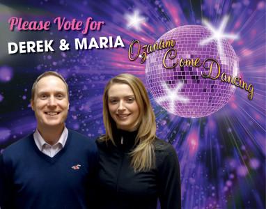 7) Maria & Derek