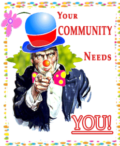 Your Community Needs You!