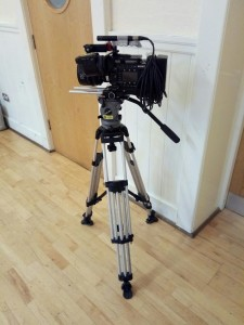 camera and stand